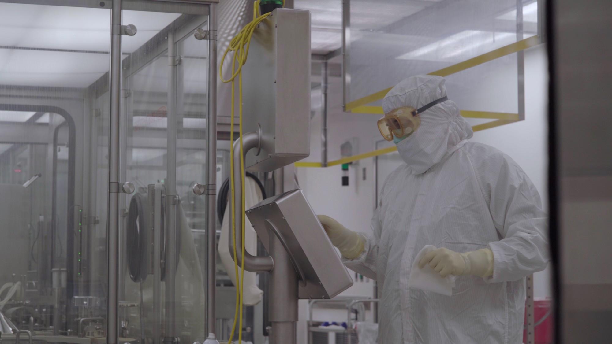 Centro de produção e manufatura da farmacêutica anglo-sueca AstraZeneca