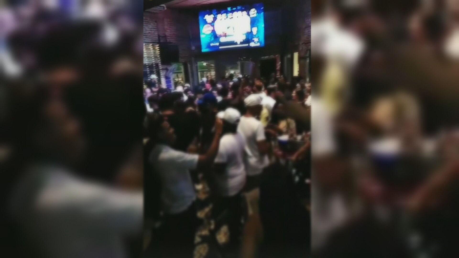 Festas no Rio têm aglomeração e pessoas sem máscara (04.jan.2021)