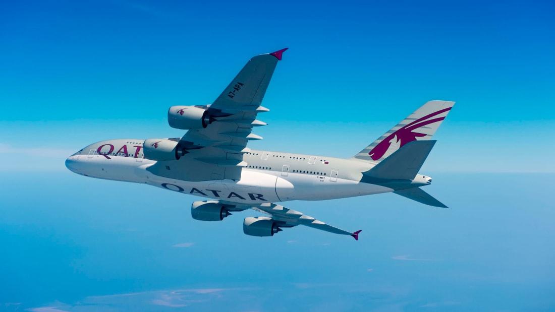 A Qatar Airways é a número dois na lista AirlineRatings.com.