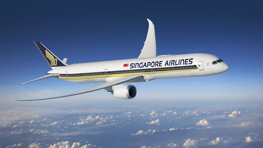A Singapore Airlines está classificada em terceiro lugar na lista de 2021