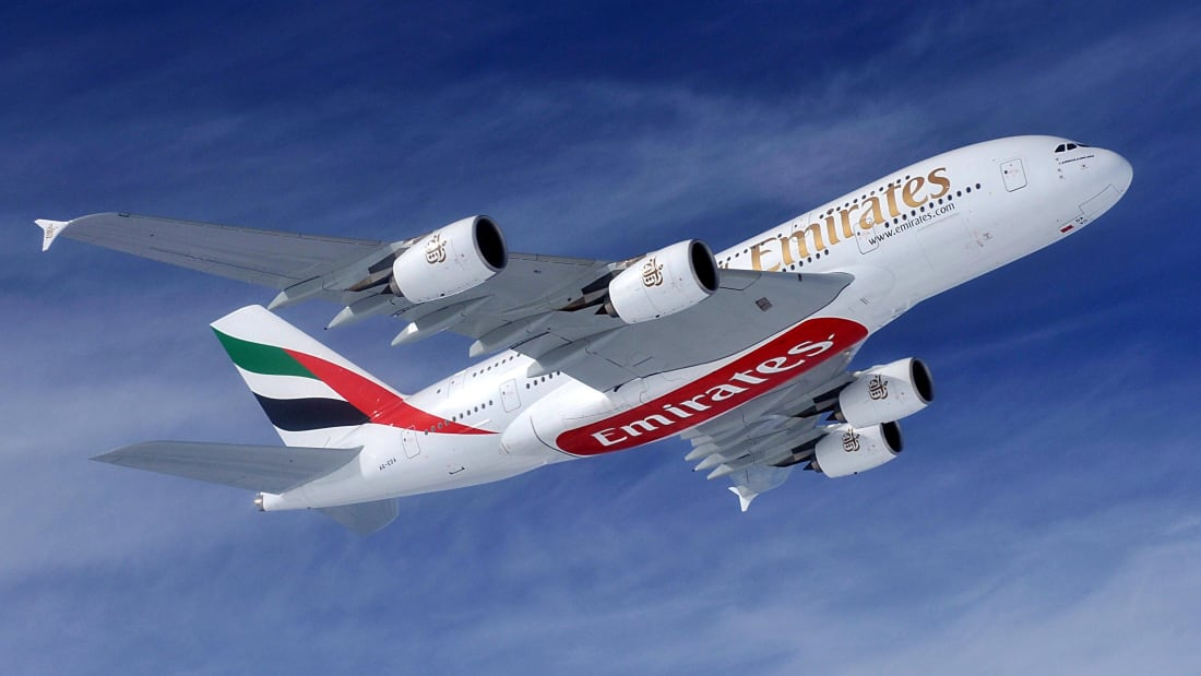 O AirlineRatings.com elogiou a Emirates por apresentar o seguro saúde de Covid-1