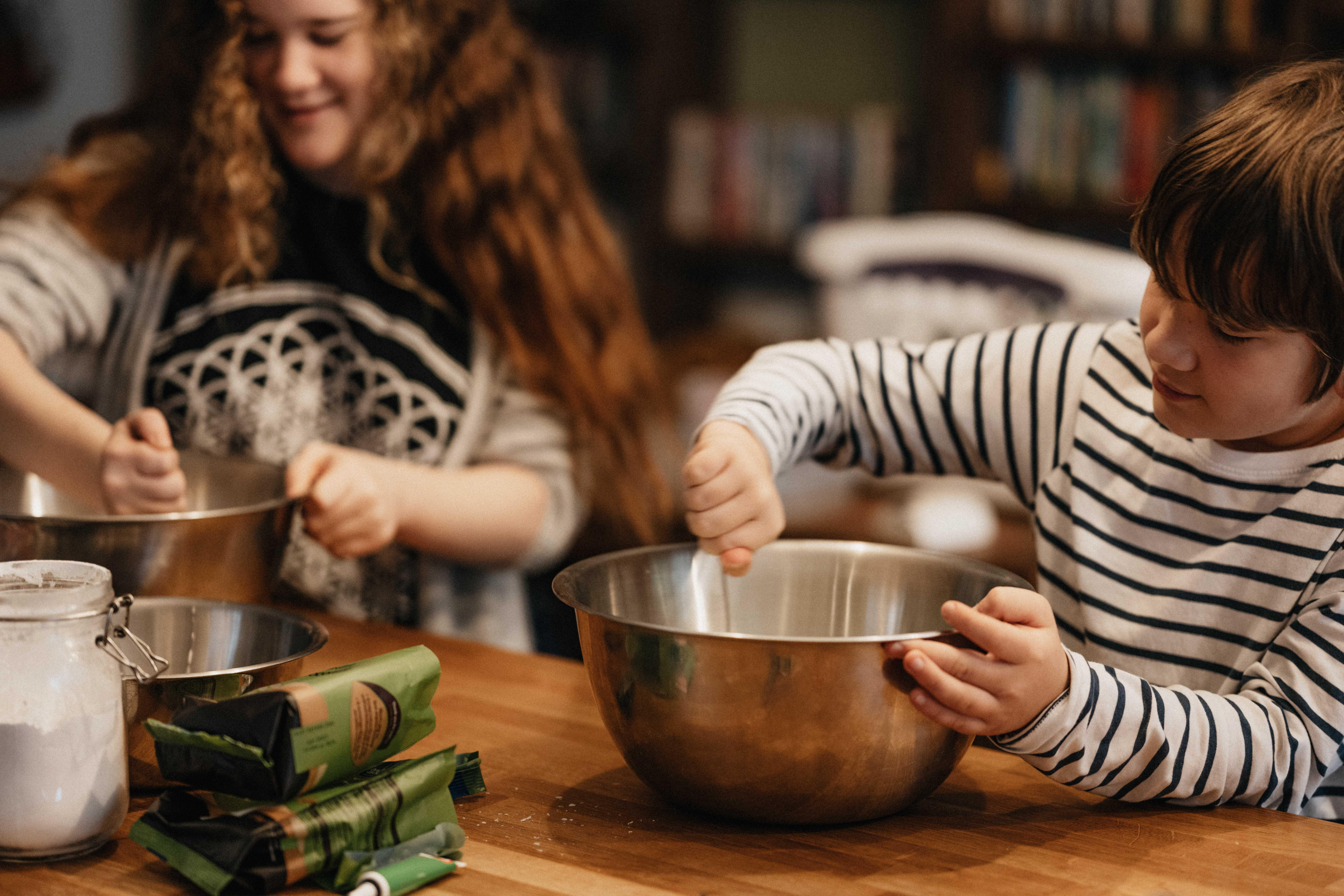 Cozinhar com a família
