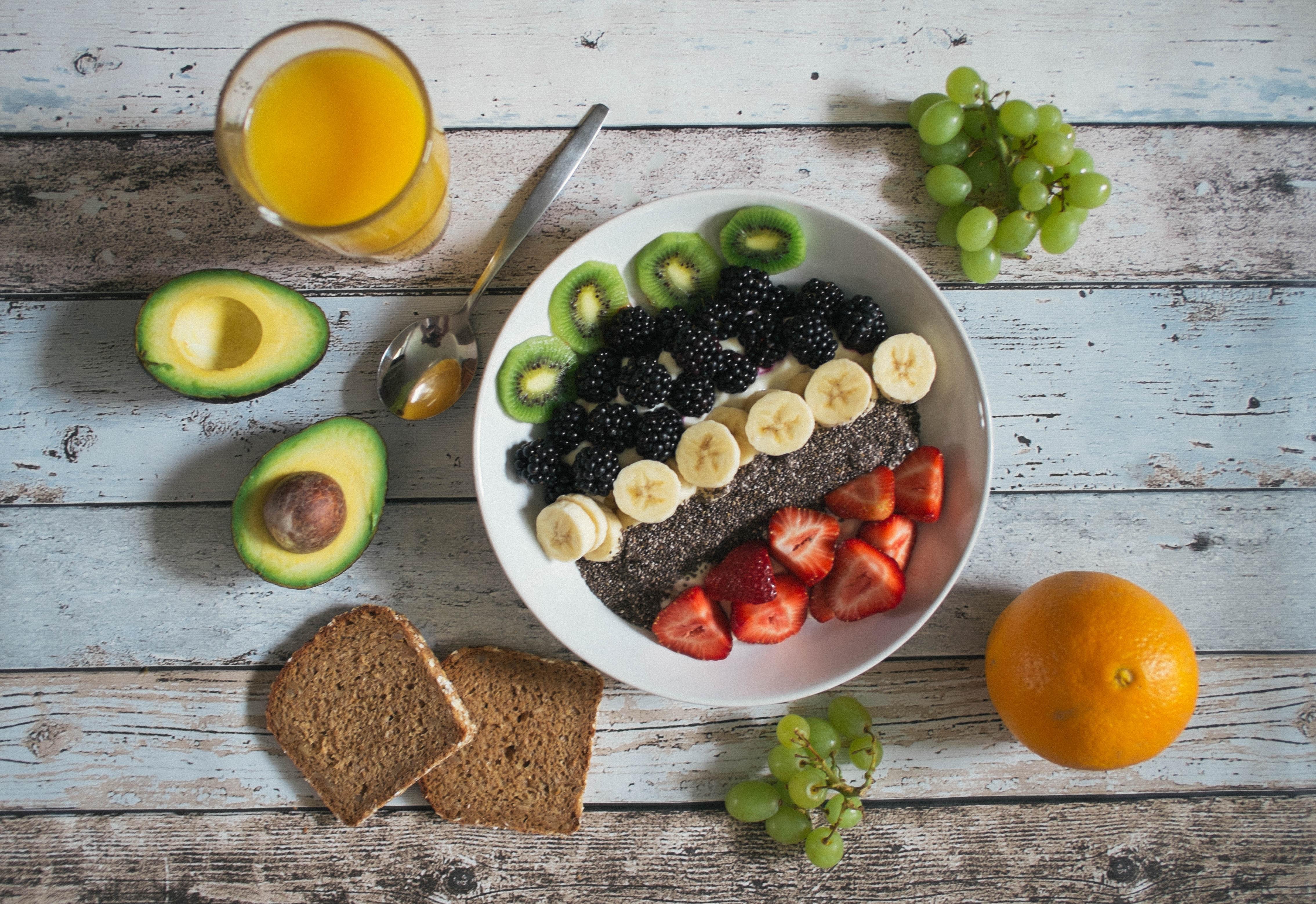 Frutas são aliadas da alimentação saudável