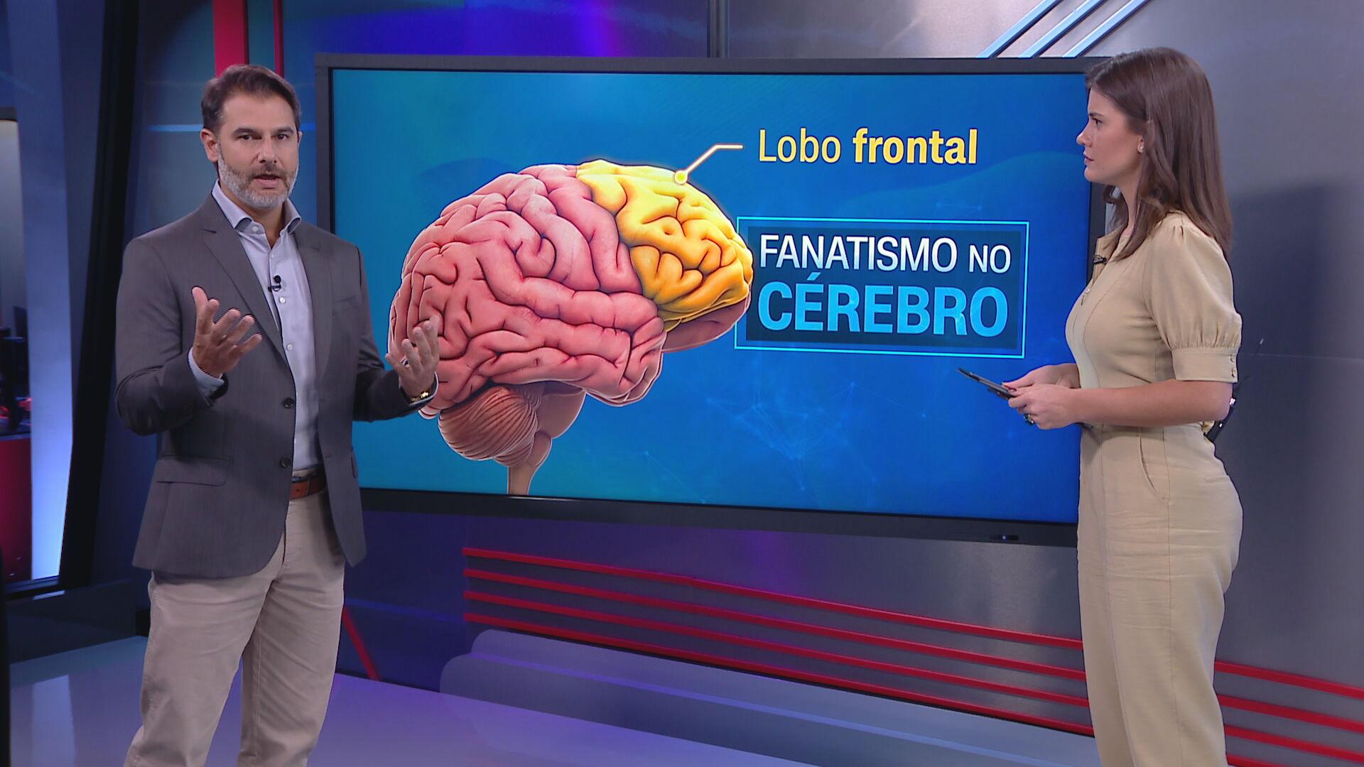 O neurocirurgião Fernando Gomes no quadro Correspondente Médico (07.jan.2021)