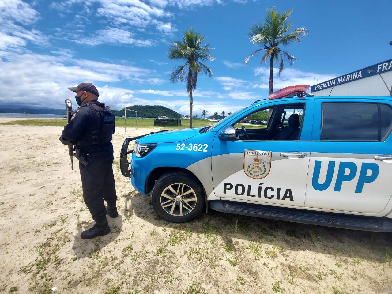 Viatura de polícia do Rio de Janeiro