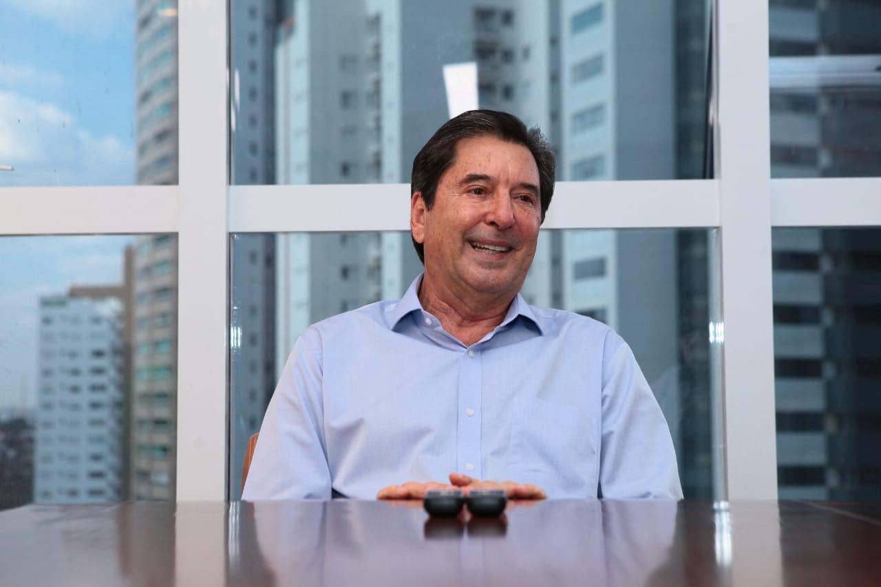 Maguito Vilela foi diagnosticado com Covid-19 em outubro de 2020