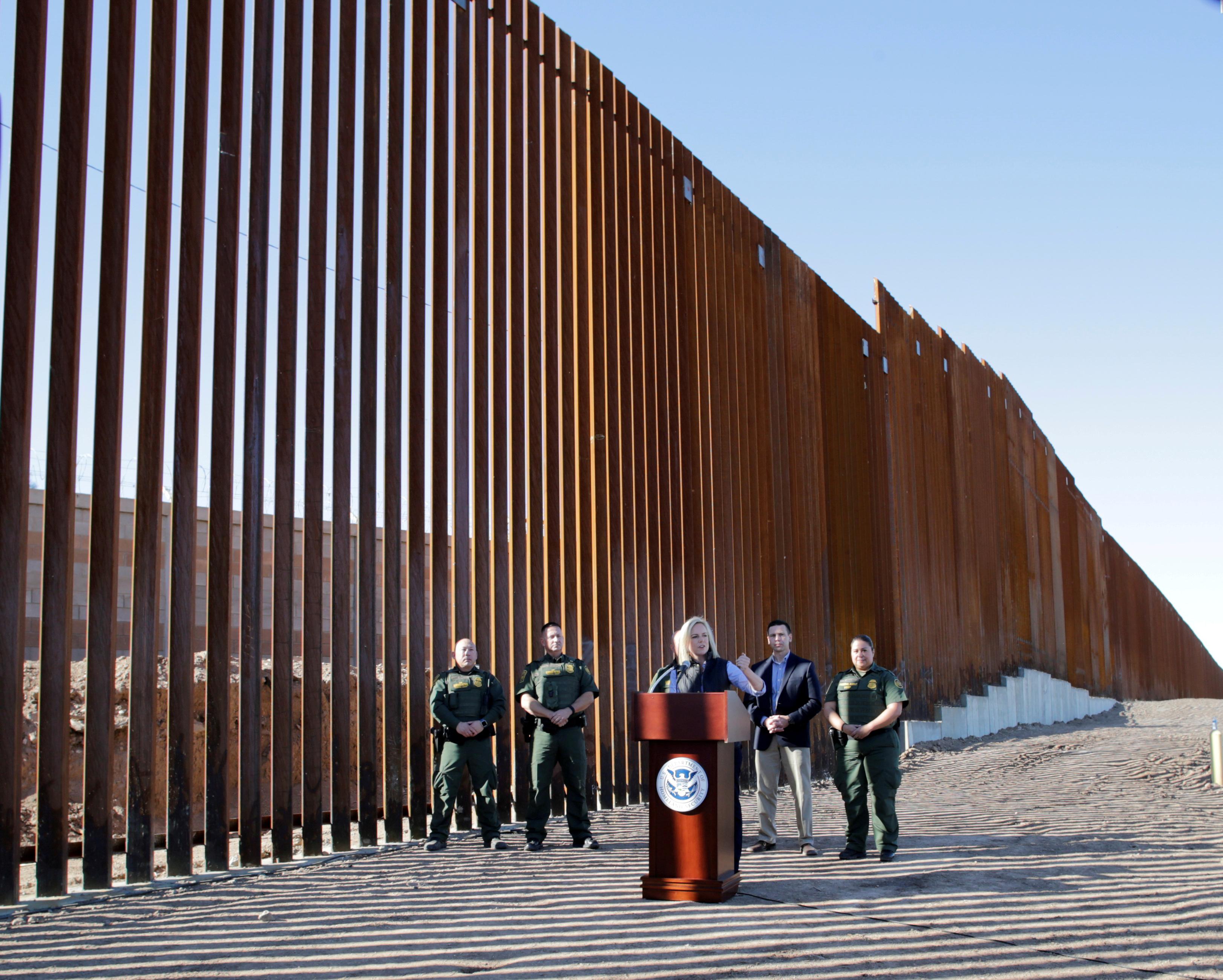 Muro da fronteira