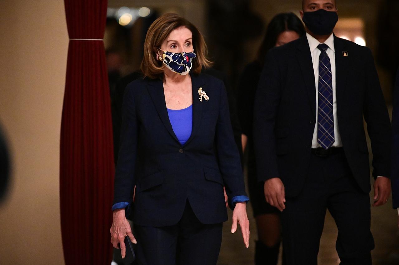 A líder da Cãmara dos Representantes dos EUA, Nancy Pelosi