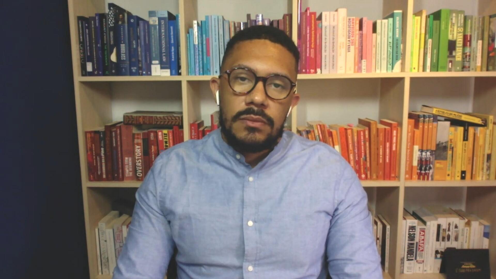 Thiago Amparo, professor de direito internacional da FGV (14.jan.2021)