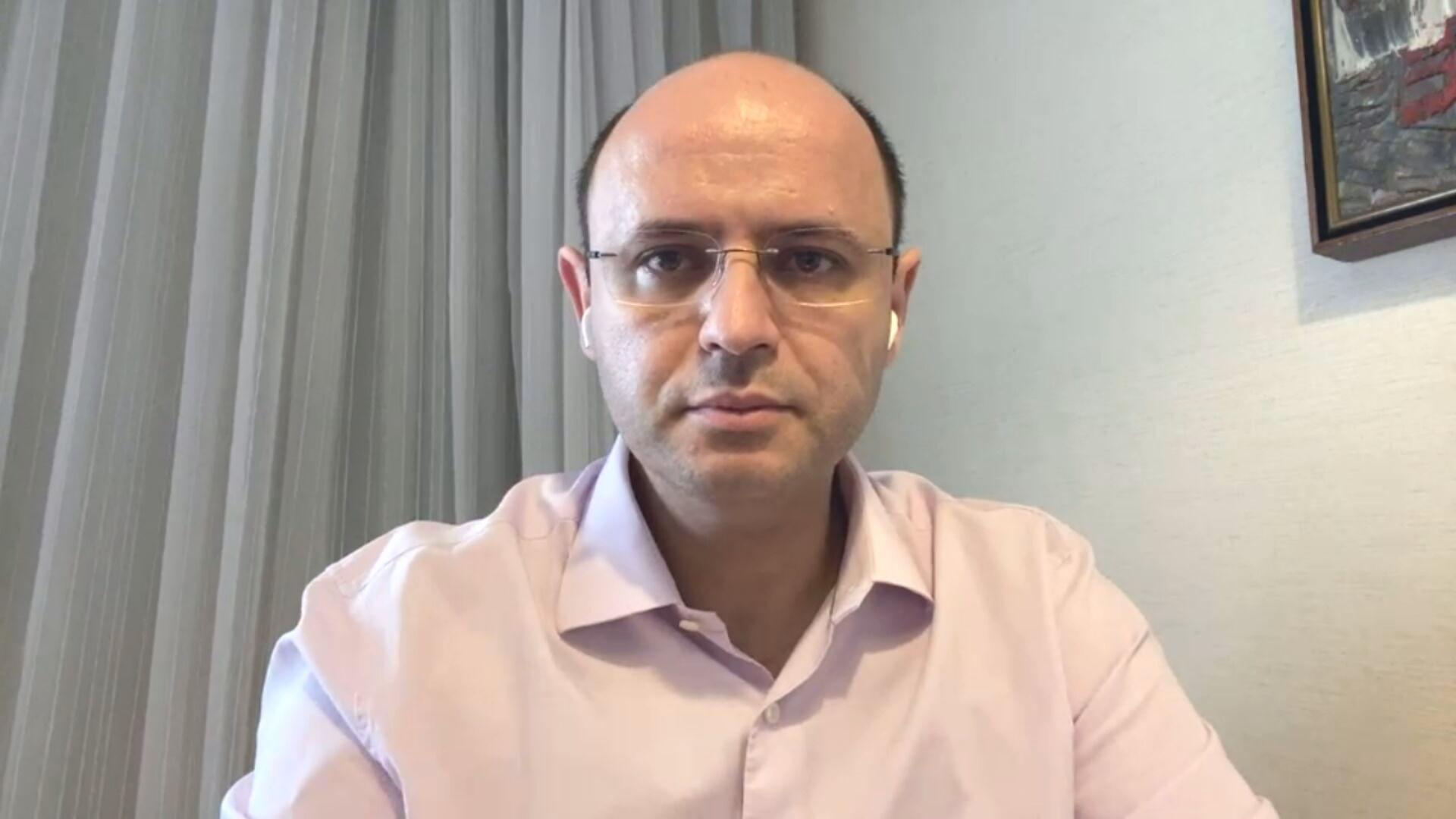 Rossieli Soares, secretário estadual de educação de São Paulo (15.jan.2021)