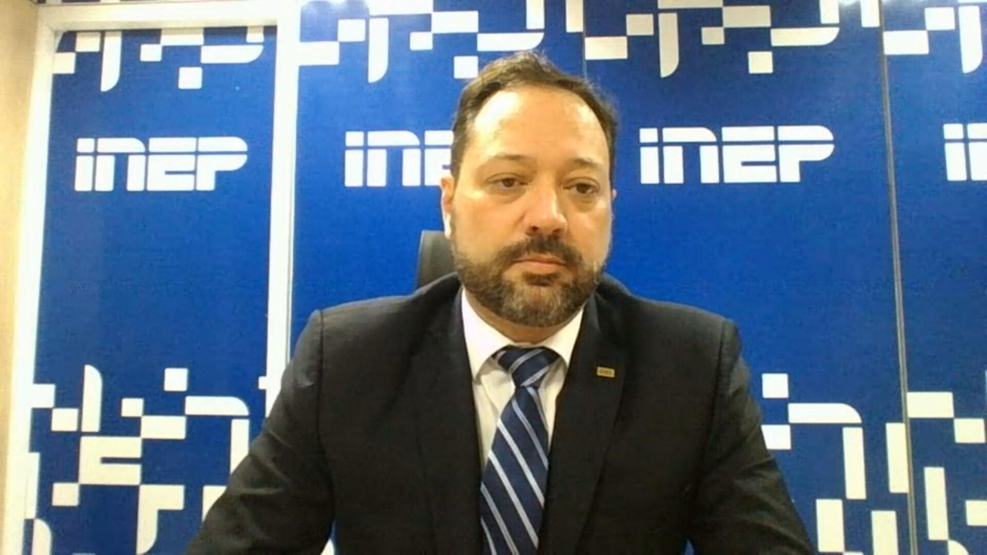 Presidente do Inep Alexandre Lopes fala sobre segurança na aplicação do Enem