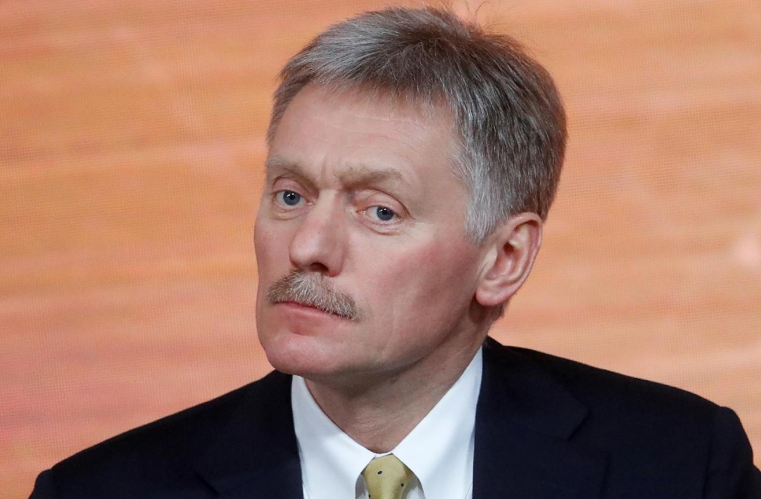 O porta-voz do Kremlin Dmitry Peskov,