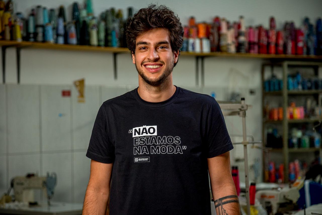 Brenno Faro, fundador da Fashion Masks