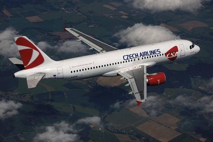 Avião da Czech Airlines