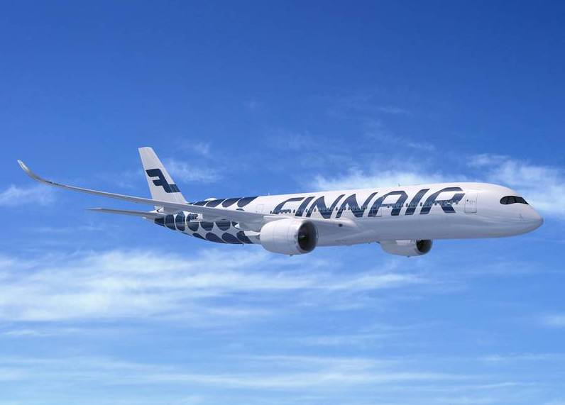 Avião da Finnair