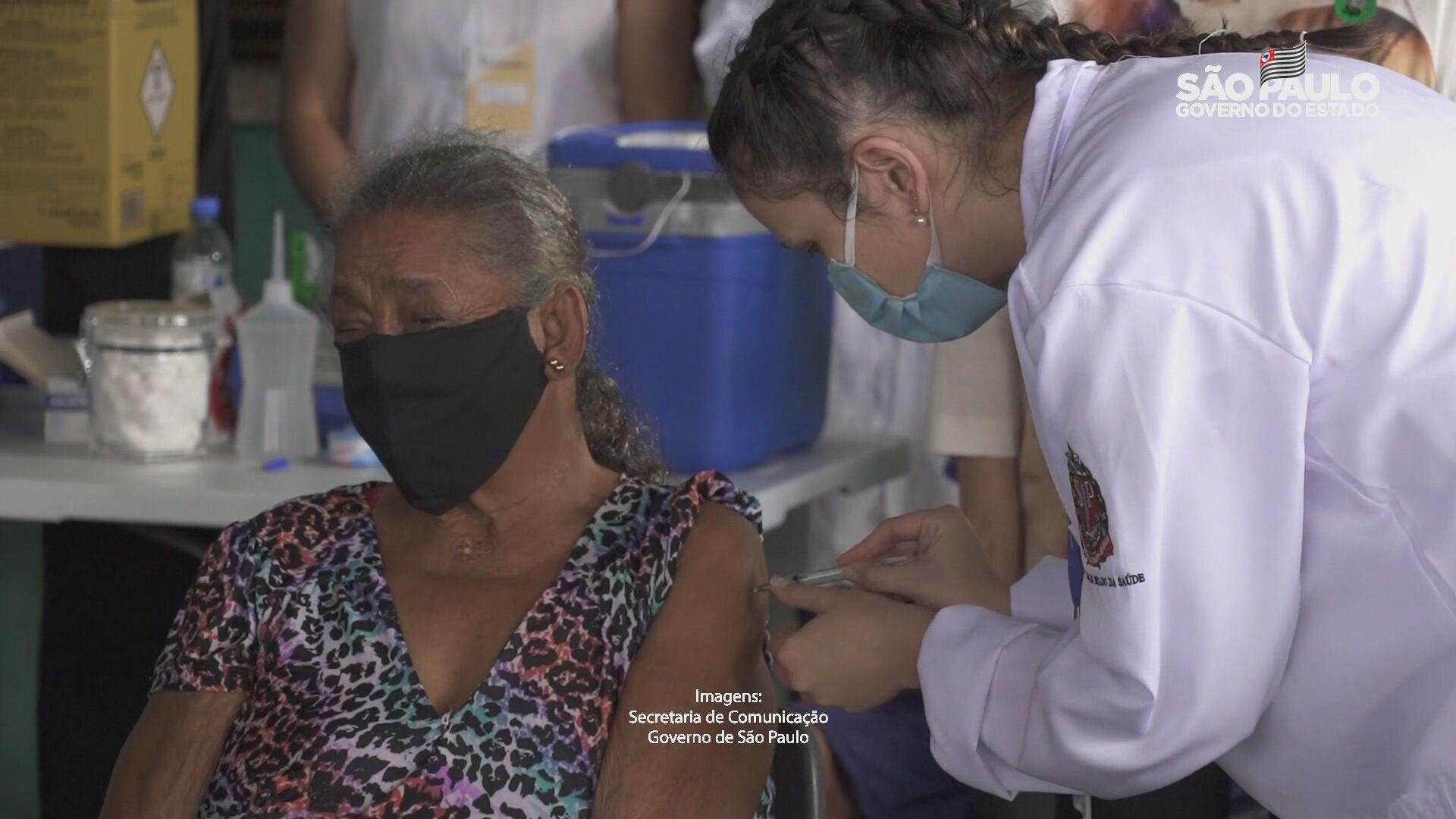 Quilombolas são vacinados no Vale do Ribeira