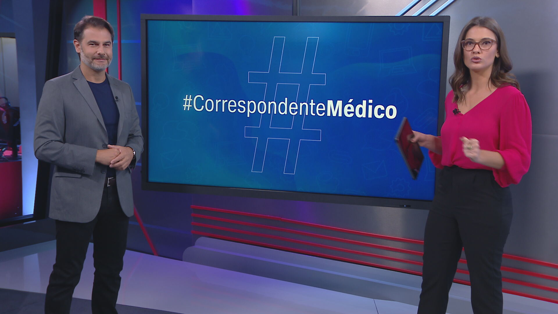 O neurocirurgião Fernando Gomes no quadro Correspondente Médico (25.jan.2021)