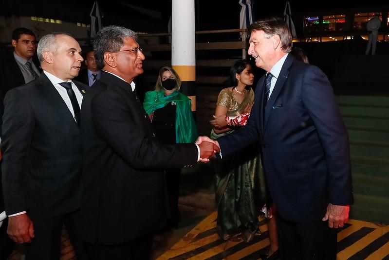 Jair Bolsonaro Índia