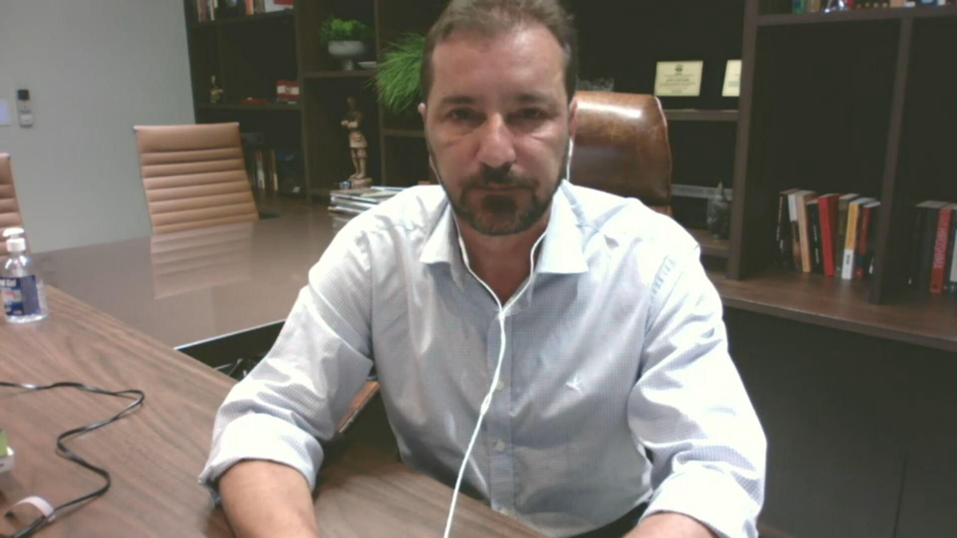 Hildon Chaves (PSDB), prefeito de Porto Velho (RO) (27.jan.2021)