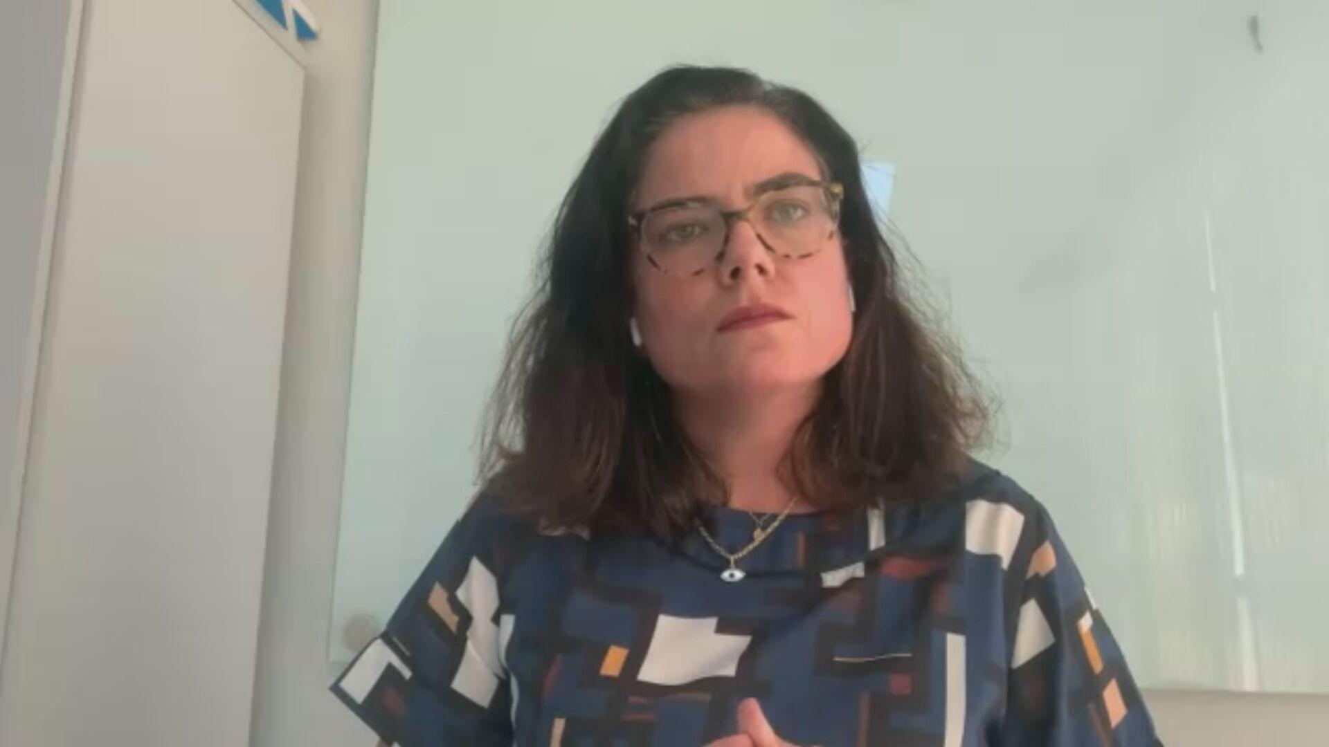 Julia Ribeiro, oficial de Educação do Unicef no Brasil  (28.jan.2021)