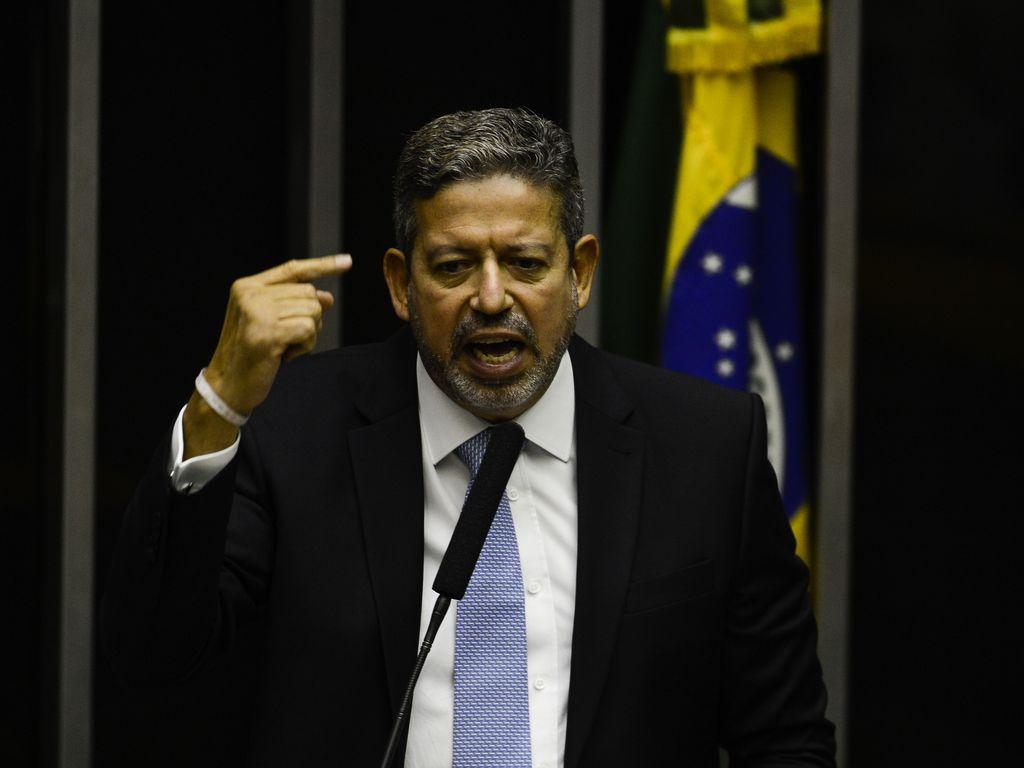 Arthur Lira discursa na Câmara dos Deputados