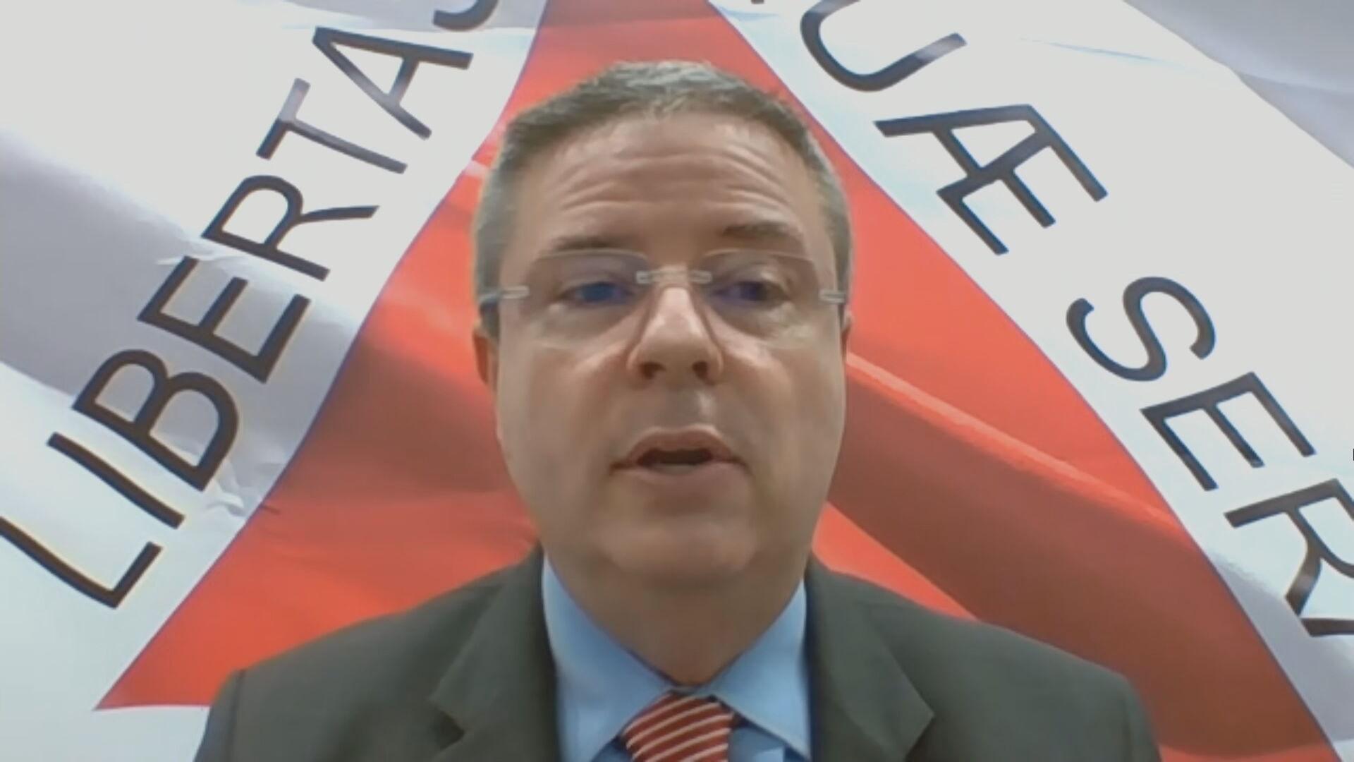 Senador Antonio Anastasia (PSD-MG) em entrevista à CNN (02.fev.2021)