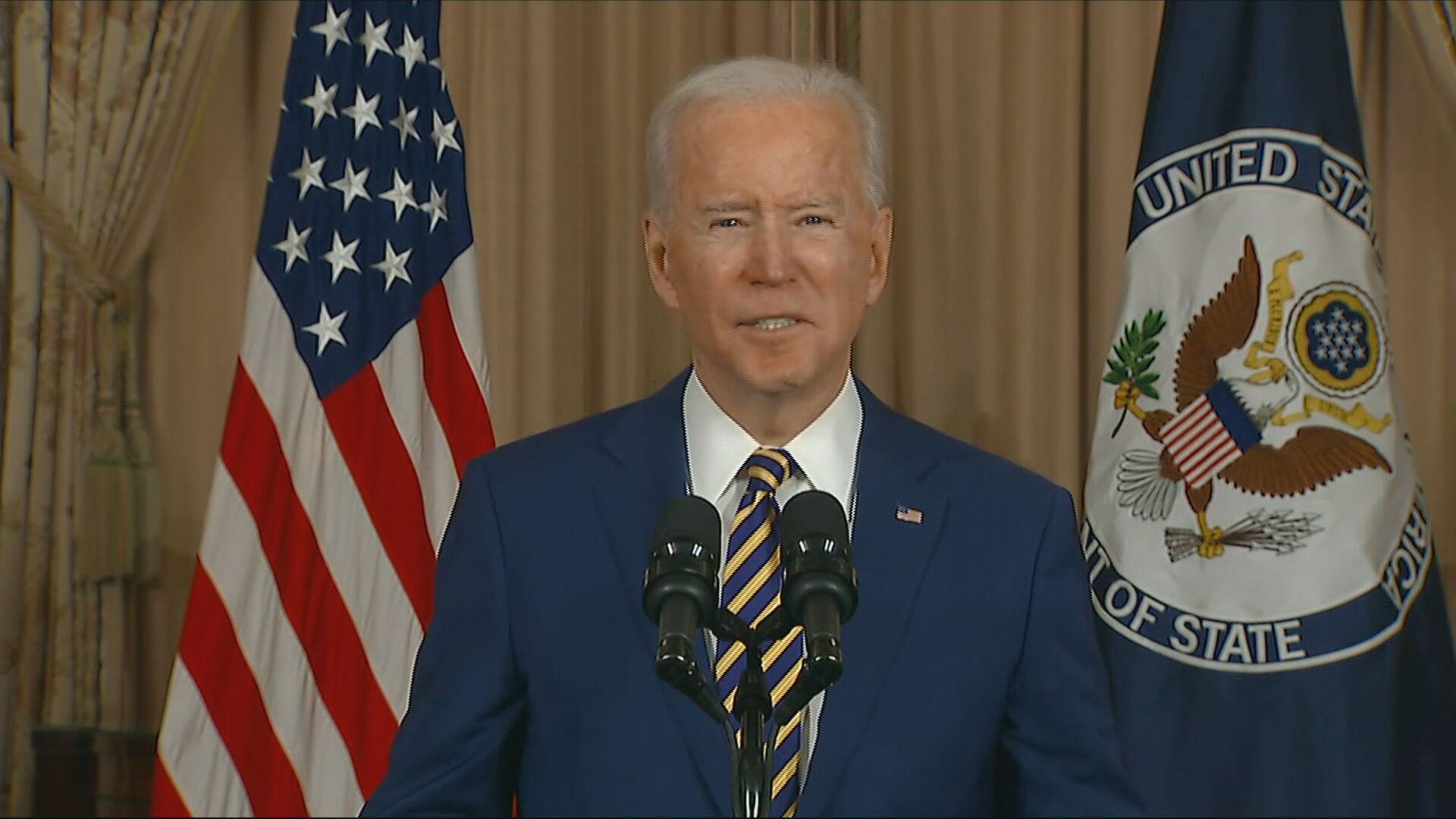 O presidente dos Estados Unidos, Joe Biden (04.fev.2021)