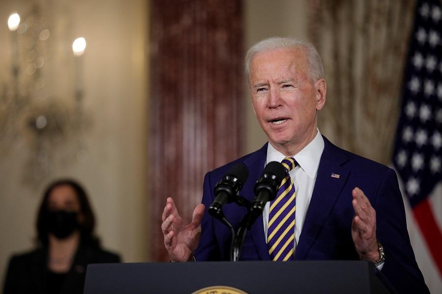 O presidente dos Estados Unidos, Joe Biden, busca implementar pacote de US$ 1,9