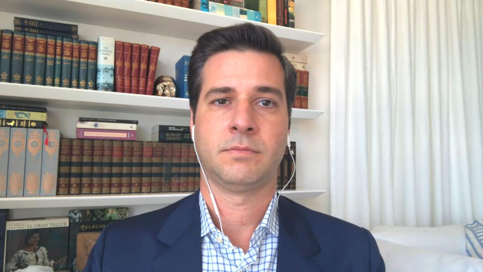 Cristiano Beraldo, secretário de Turismo do Rio de Janeiro (05.fev.2021)