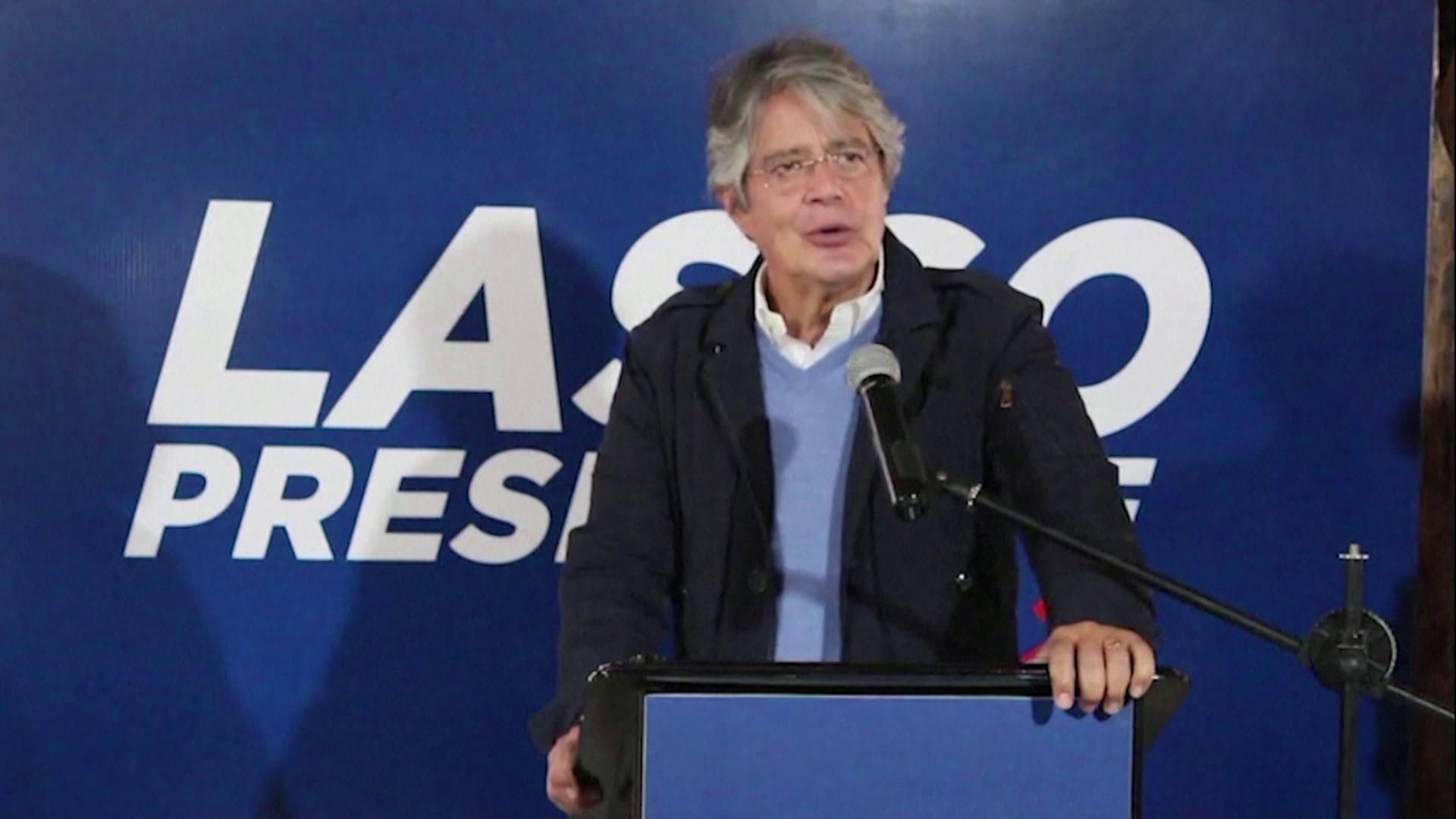 Guilherme Lasso promete estimular economia com investimento estrangeiro