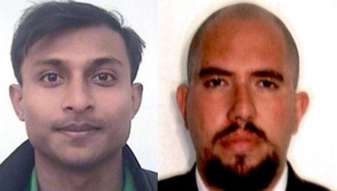 O bengalês Saifullah Al Mamun e o advogado brasileiro Henrique Gonçalves Liotti