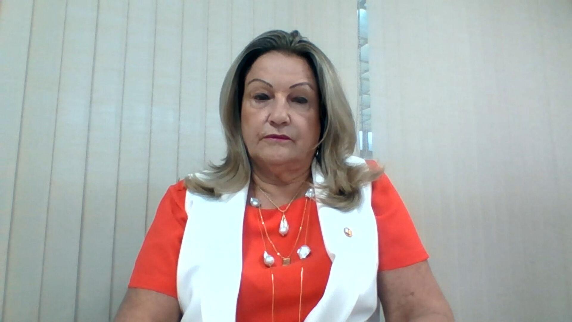A deputada Maria Lúcia Amary (PSDB), presidente do Conselho de Ética da Alesp