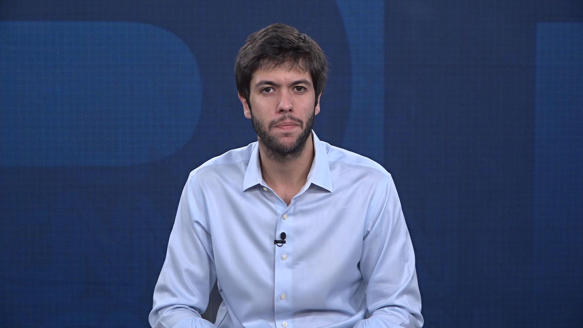 Caio Coppolla no quadro Liberdade de Opinião (11.fev.2021)