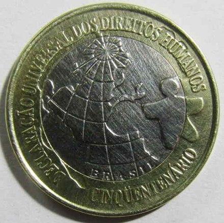 Moeda de R$ 1 de 1998