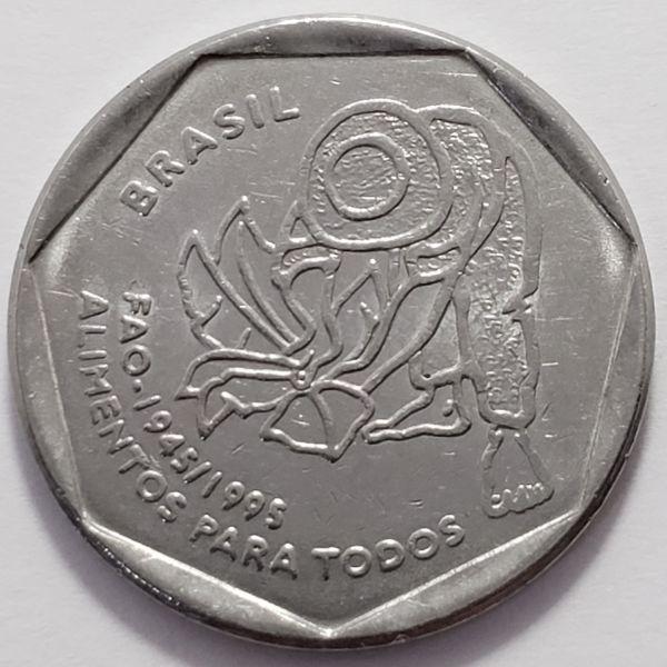 Moeda de 25 centavos de 1995