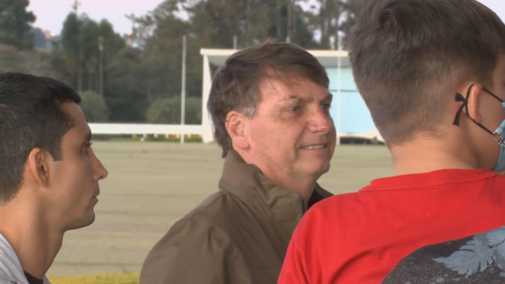 Jair Bolsonaro (14 fev. 2021)