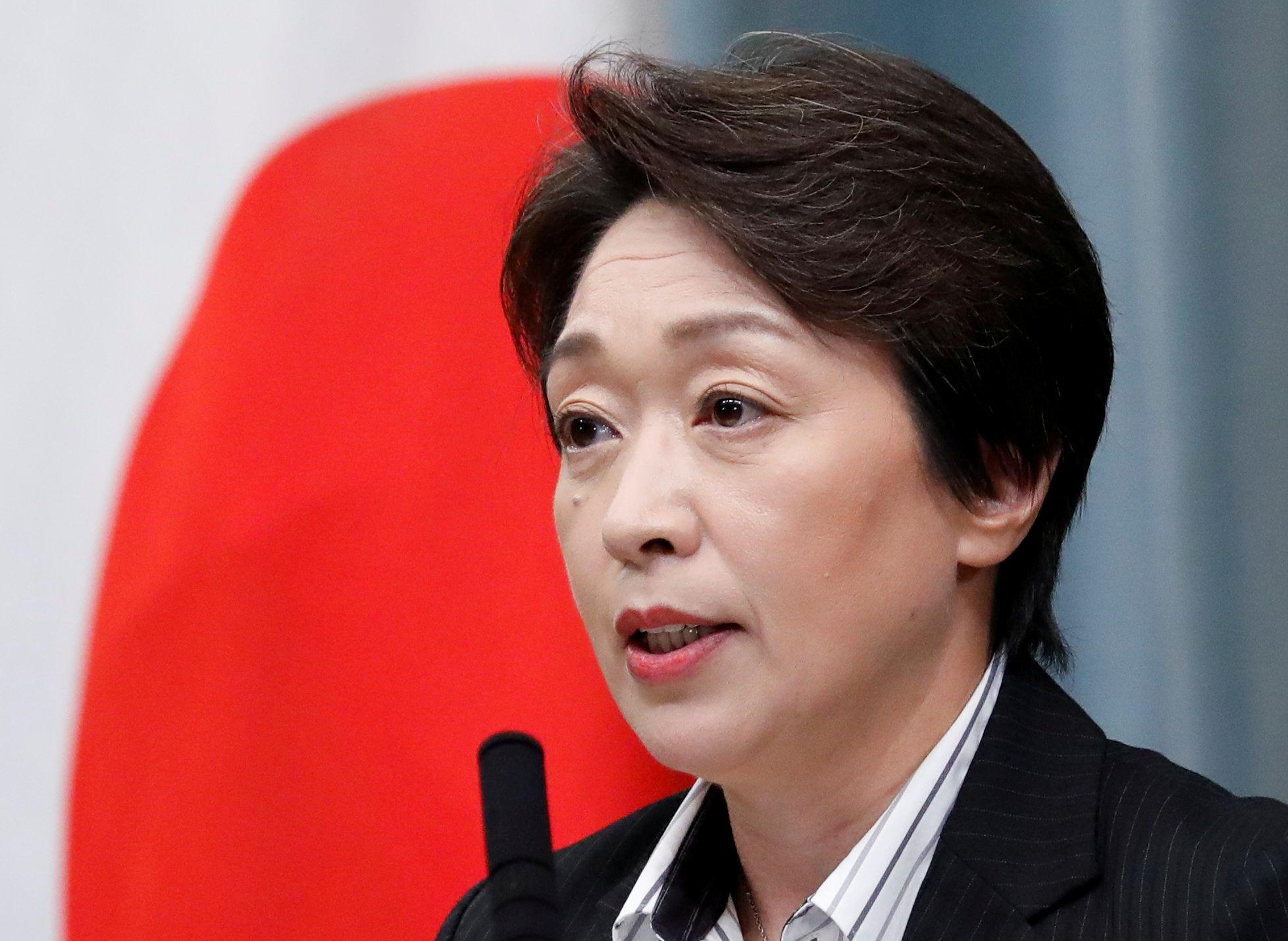 Seiko Hashimoto, que competiu em sete Jogos como ciclista e patinadora, pode ser