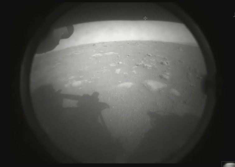 Sonda Perseverance em Marte