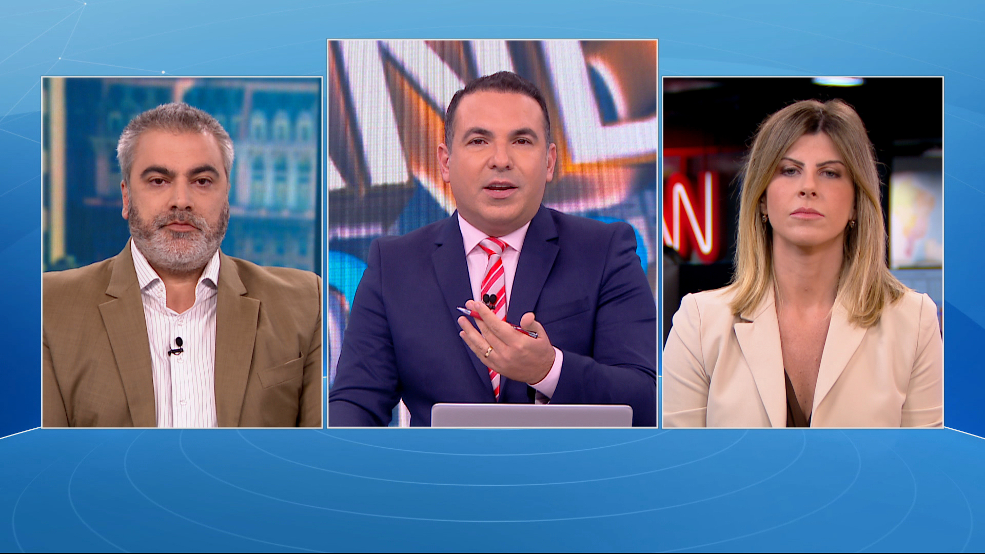 O Grande Debate: o advogado Thiago Anastácio e para a economista Renata Barreto