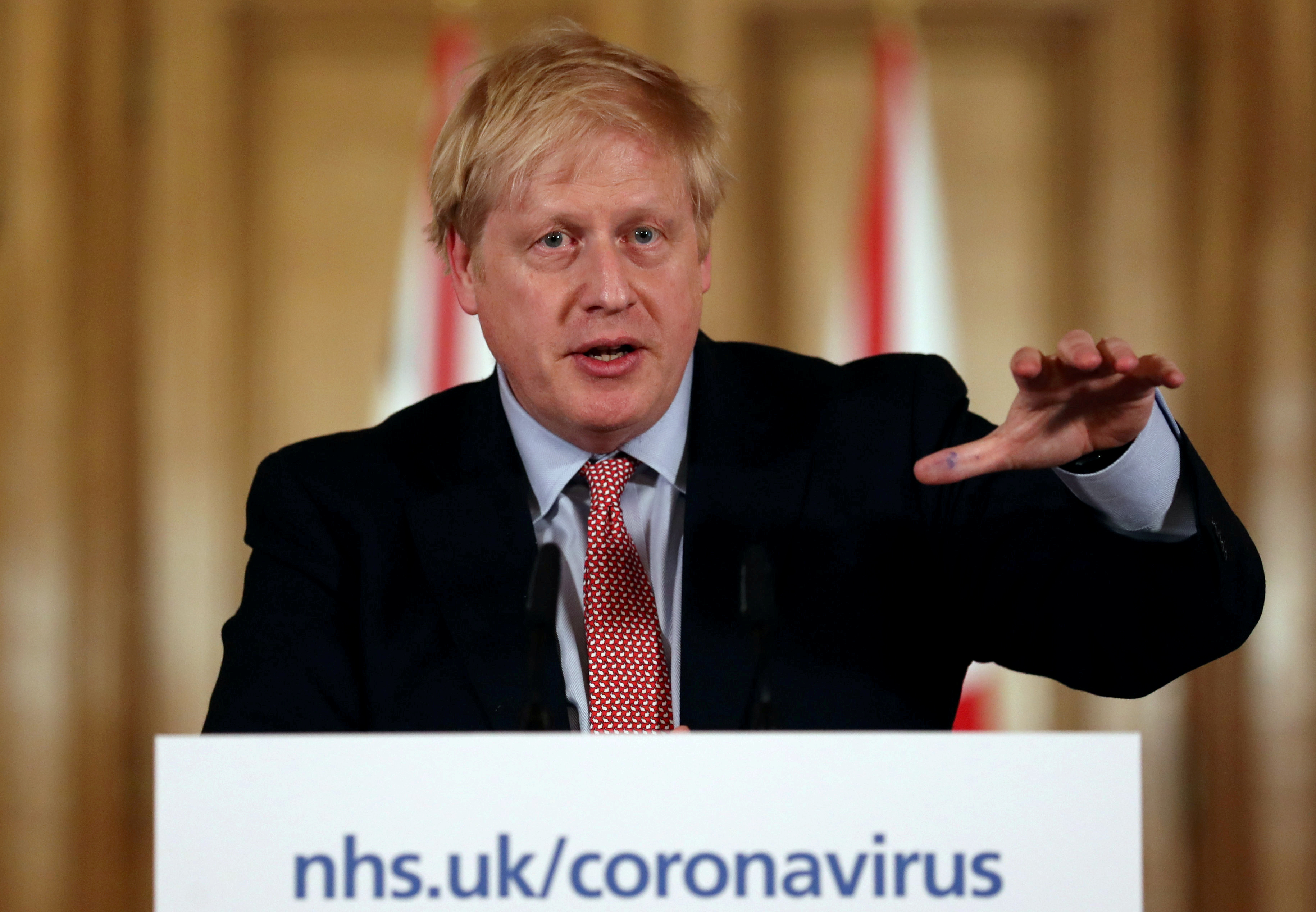 Boris Johnson, premiê do Reino Unido