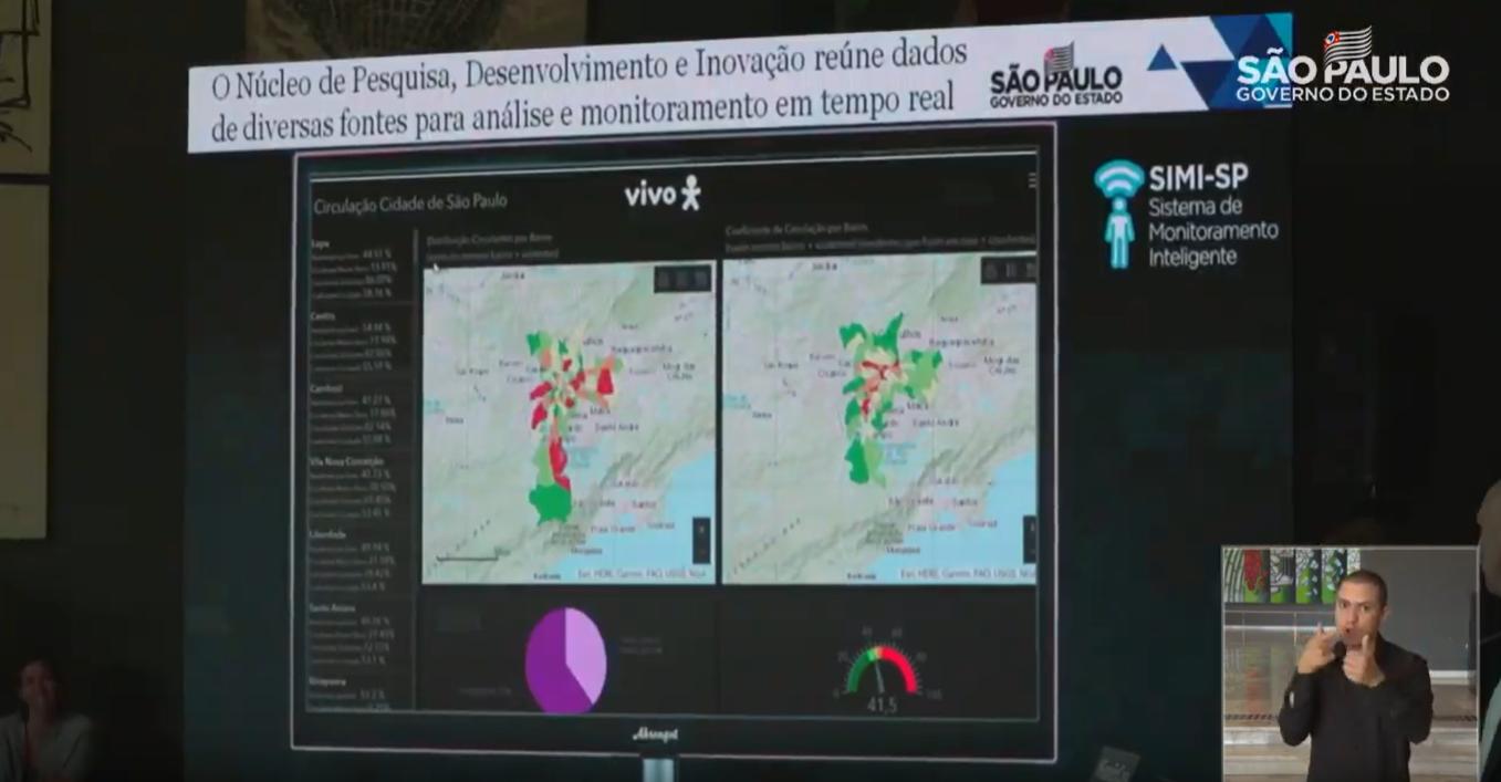 São Paulo fará monitoramento de quarentena em parceria com empresas de telefonia