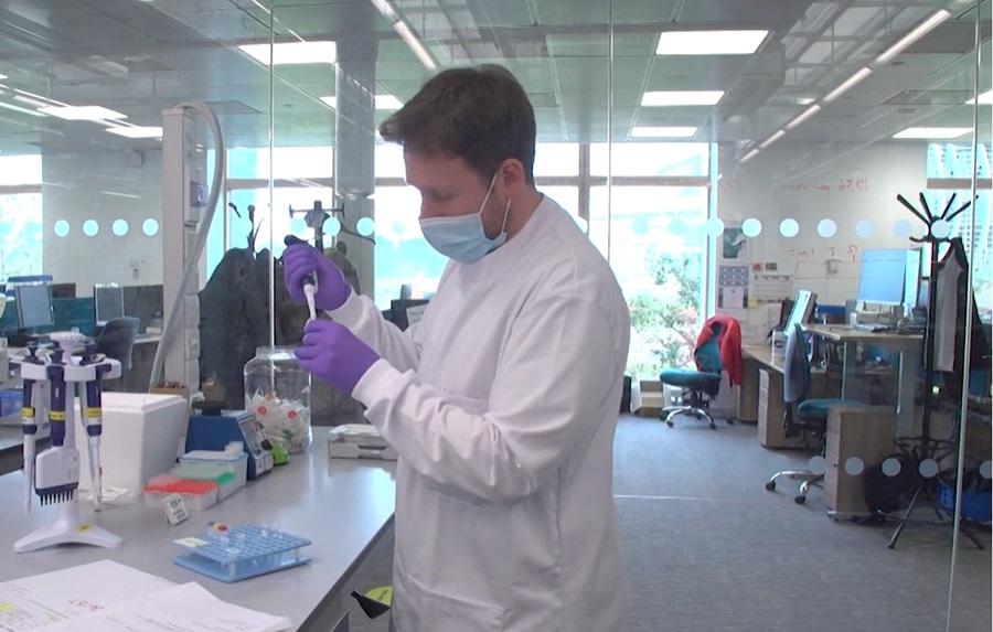 Cientista faz estudos de vacinas contra as novas cepas do coronavírus