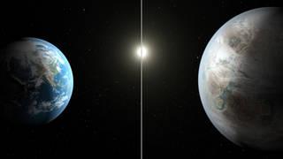 Ilustração Kepler 452b