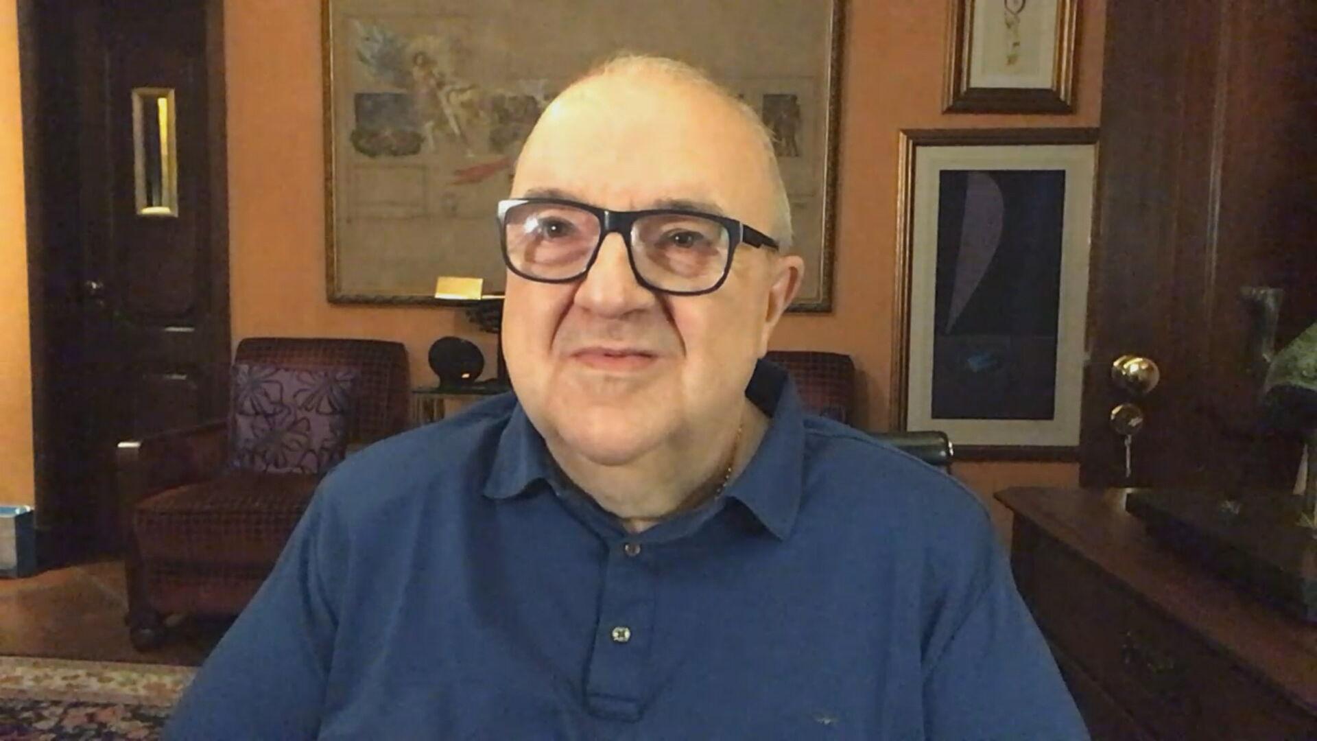 O prefeito de Curitiba, Rafael Greca (DEM) (26.fev.2021)