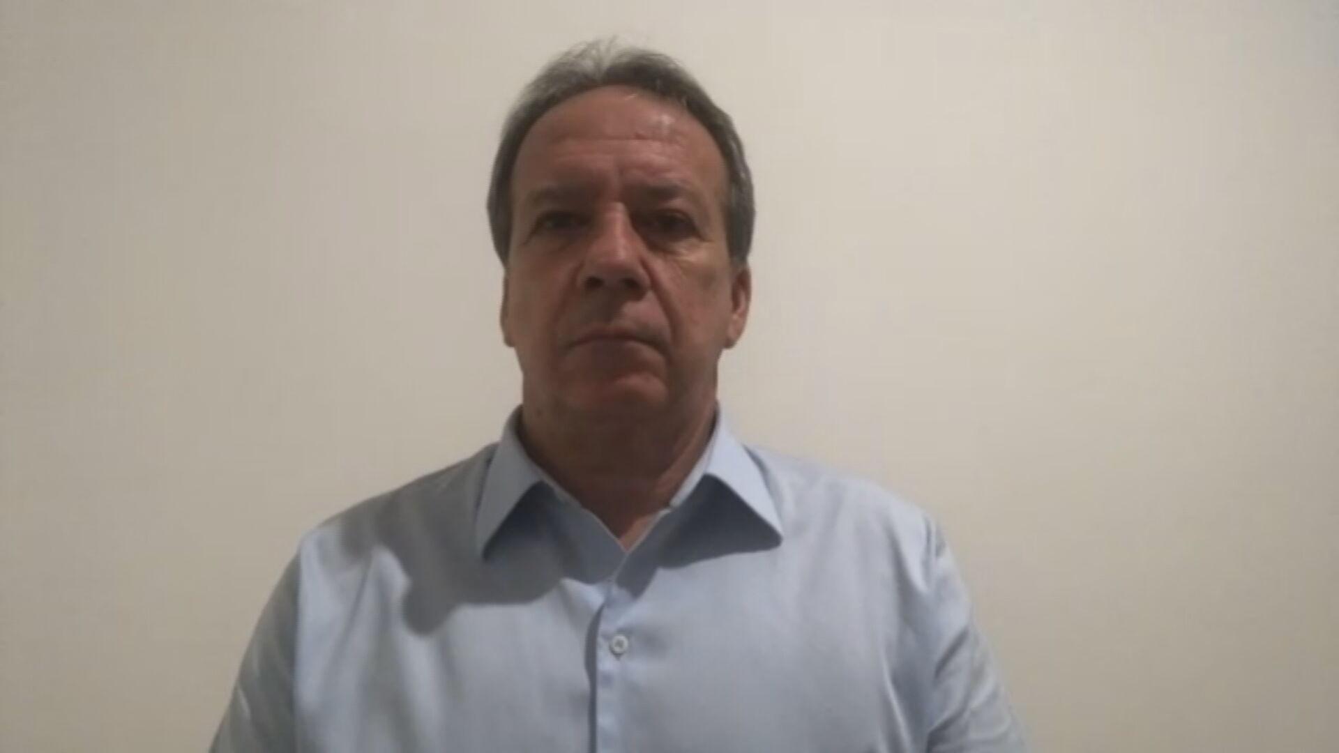 O secretário municipal de saúde de São Paulo, Edson Aparecido (26.fev.2021)
