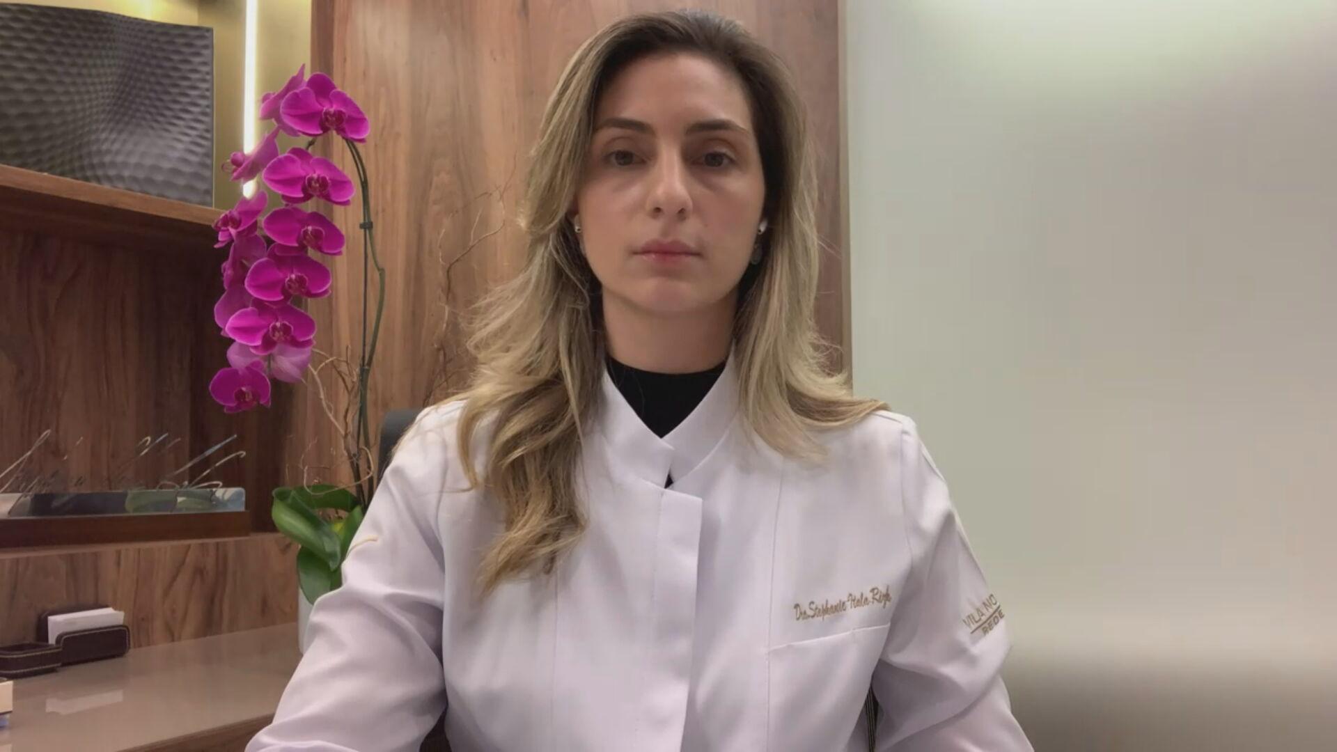 A cardiologista Stephanie Rizk (03.mar.2021)