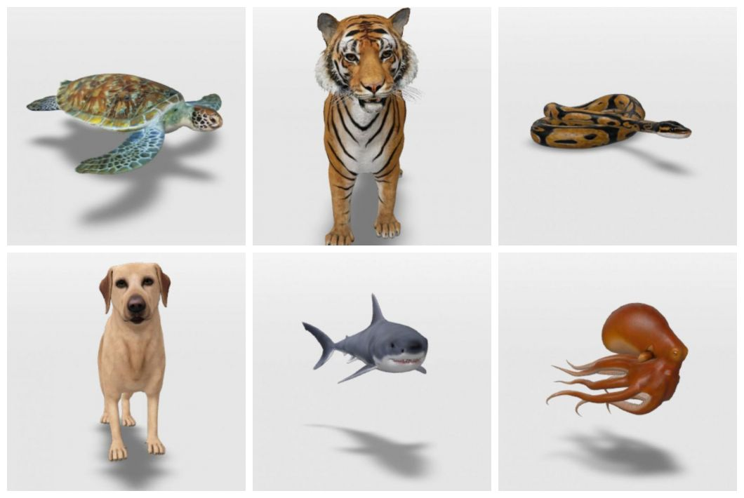 animais google