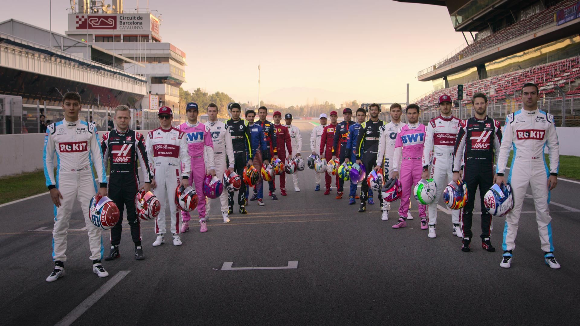 F1 Dirigir para Viver, Netflix