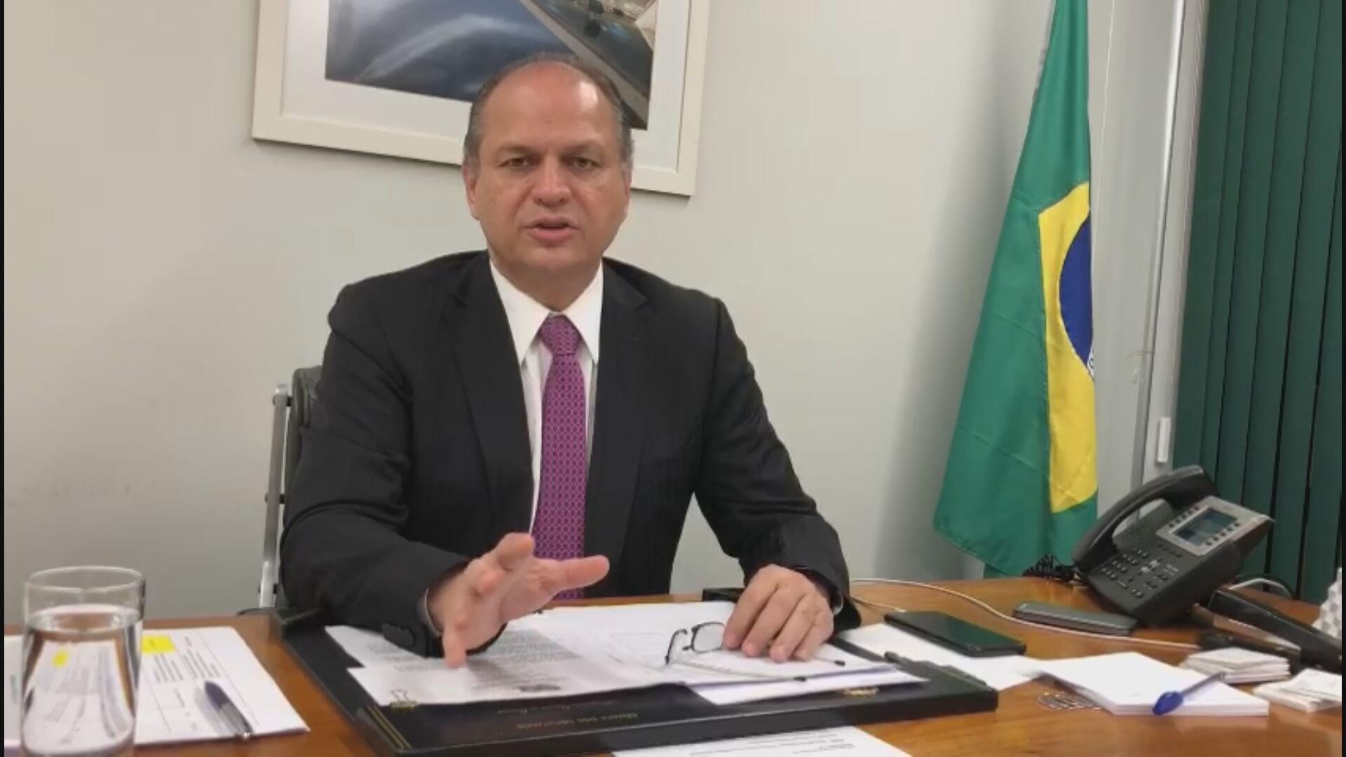 Ricardo Barros falou sobre  a suspensão da análise de propostas da Lei Rouanet