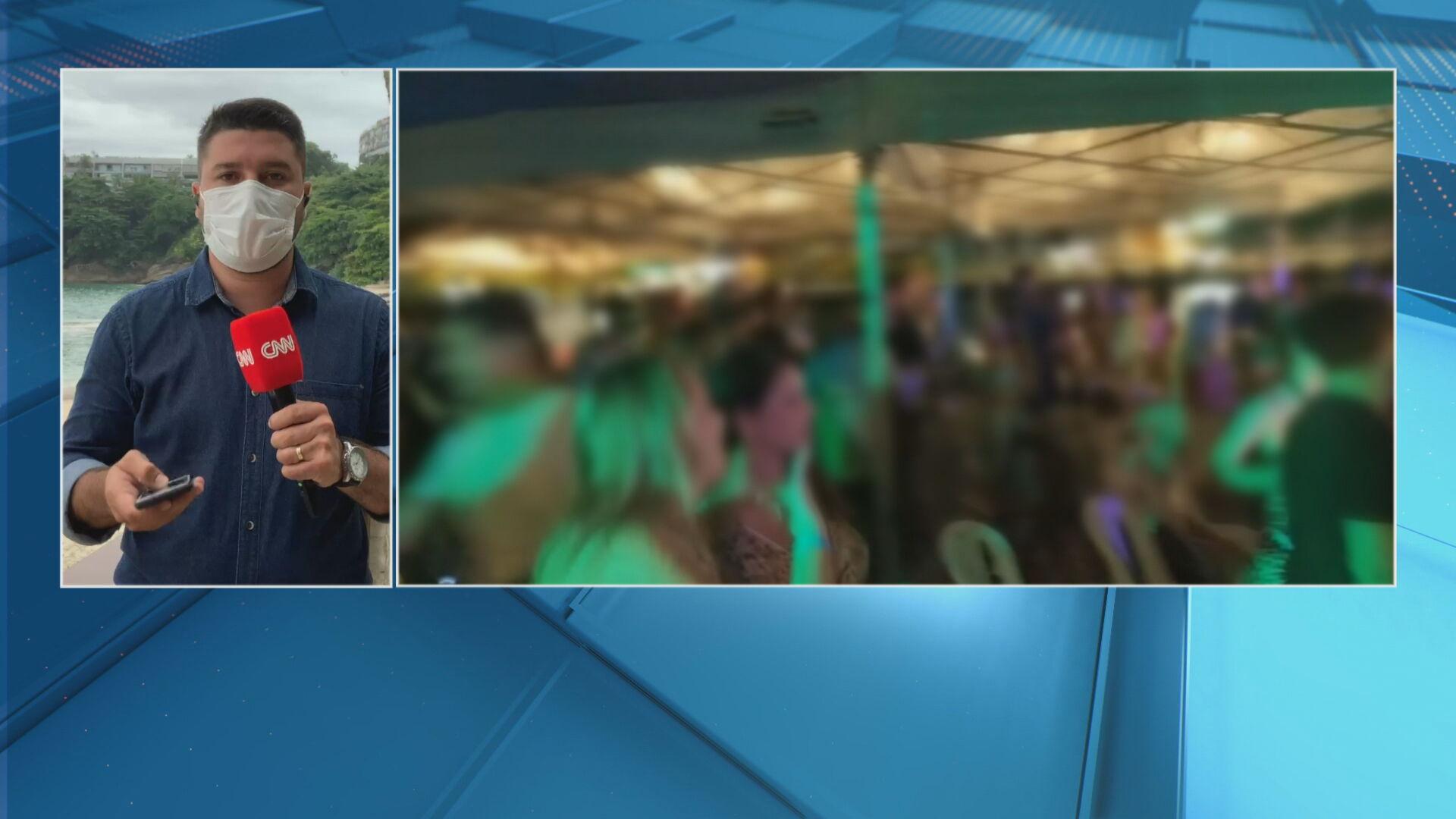 Bar no Rio de Janeiro foi autuado por festa com cerca de 200 pessoas